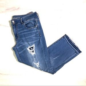 American Eagle Outfitters Artist Crop Jeans, 14